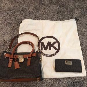 Michael Kors Hamilton Handbag & Wallet